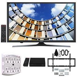 Samsung UN49M5300 49-Inch Full HD Smart LED TV w/Wall Mount