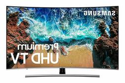 SAMSUNG UN55NU8500FXZA Curved 55-inch 4K UHD Smart Apps LED