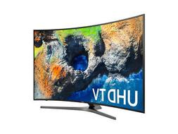 UN65MU7500 -- 65 Inch Curved Samsung 4k 2160p Smart TV NEW