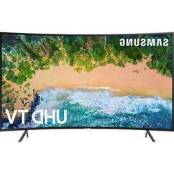 """Samsung UN65NU7300 65"""" Smart Curved LED 4K HDR UHD TV"""