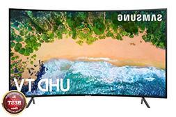 "Samsung UN65NU7300 Curved 65"" 4K UHD 7 Series Smart TV 2018"