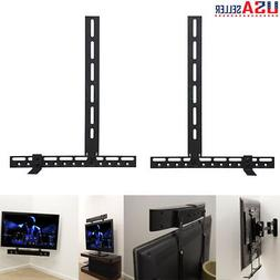 Universal Any Soundbar Mount for Mounting Sound Bar Above or