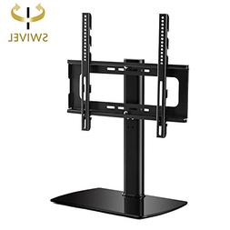 Rfiver Universal Swivel Tabletop TV Stand with Mount for 27