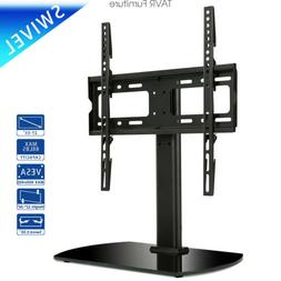 Universal Table top TV Base Stand with Swivel Mount for 27-5