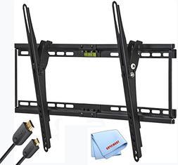Universal Tilting Ultra Slim Flat Screen TV Wall Mount for 3
