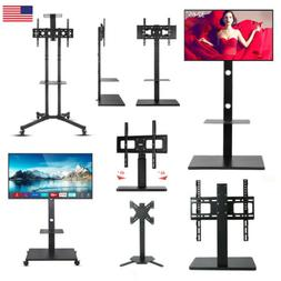 Floor Universal TV Wall Mount Stand Plasma Flat Tilt Swivel