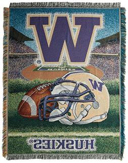 University of Washington Throw Blanket Afghan Tapestry