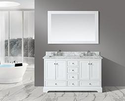 UrbanFurnishing.net - Jocelyn 60-Inch  Bathroom Sink Vanity