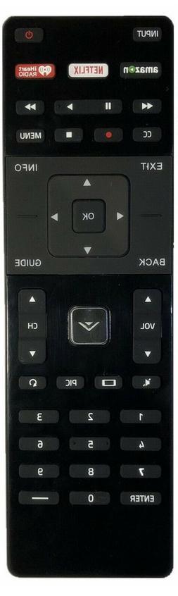 New USBRMT Replaced Vizio XRT122 Smart TV Remote with Amazon