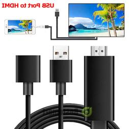 USB To HDMI Digital AV Adapter Plug and Play HDTV Smart Cabl
