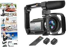 Video Camera Camcorder 4K 60FPS  Ultra HD Digital WiFi Camer