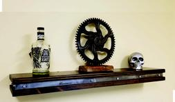 vintage industrial floating shelf rustic wall shelves
