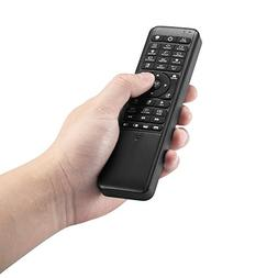 Pepper Jobs W10 GYRO Air TV Remote,QWERTY Keyboard Fly Mouse