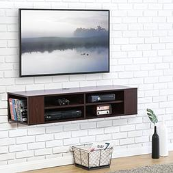 FITUEYES itueyes Wall Mounted Audio/Video Console Wood Grain
