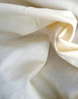 "LA Linen 60"" Wide Cotton Muslin Fabric / 75 Yards Bolt / Nat"