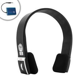 GOgroove BlueVIBE AirBAND TV Wireless Headphones Kit with Te