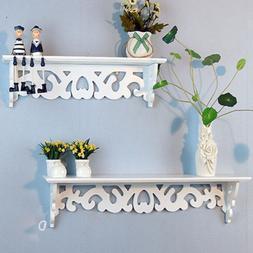 Wood Wall Mount Shelf Display Floating Nesting Decorative St