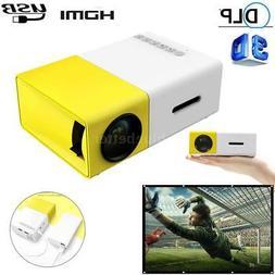 YG300 Mini Portable Multimedia LED Projector Full HD 1080P H