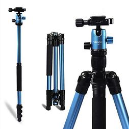 "ZOMEI Camera Tripod, 62.5"" Lightweight Alluminum Alloy DSLR"